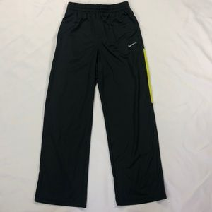 Nike Big Kid Dri-Fit Gray Athletic Track Pants L